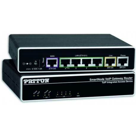 Router RDSI Voip Patton SmartNode 4552