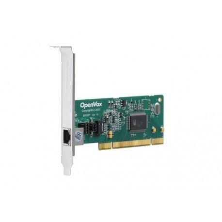 Tarjeta PCI OPENVOX Mod. B100P, 1 Puerto BRI (RDSI)