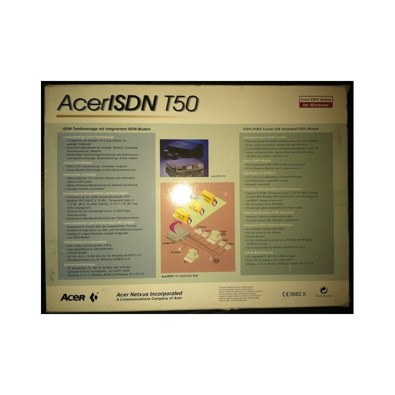 Acer ISDN T50 Drivers for PC
