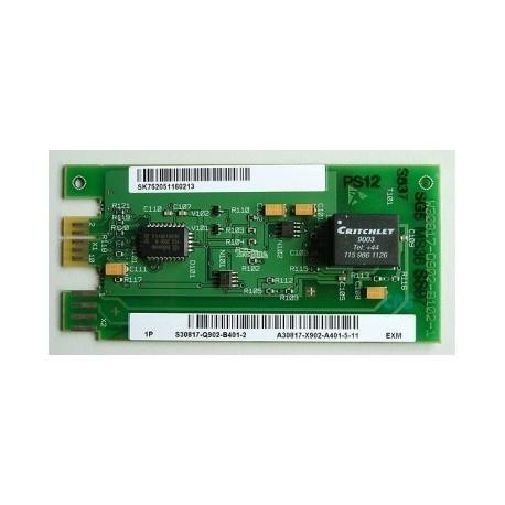 Tarjeta S30817-Q902-B401-2, Música Externa para Centralita Siemens 3350 y 3550