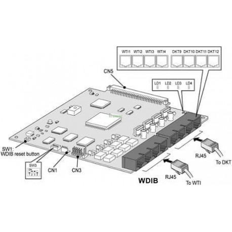 Tarjeta WDIB ipLDK-20