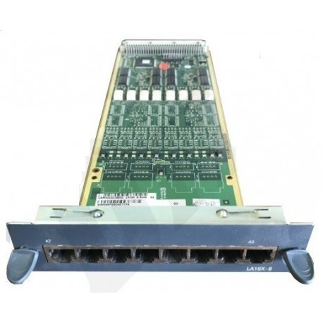 Tarjeta LA8X, HJ4714A, 8 extensiones analógicas  para centralitas Aastra 5000 Serie X